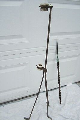 2 Lightning Rod Barn Farm House Antique Home Copper Cabin Weathervane Garden Oil