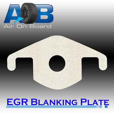 EGR Blanking Block Plate 202H for Mitsubishi Challenger 4D56 2.5L TD with hole