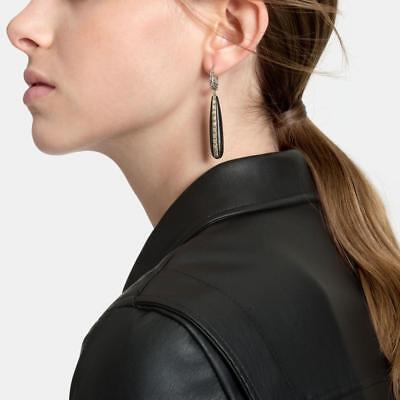 JOHN HARDY CHAIN COLLECTION Drop Earrings with Ebony Wood  $1,395.00
