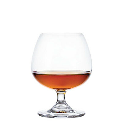 6x Brandy Glass 400ml Olympia Hospitality Bar Cocktail Snifter Balloon Cognac