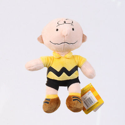 New Peanuts Charlie Brown Kohls Cares Soft Plush Doll Stuffed Toy 9 Inch