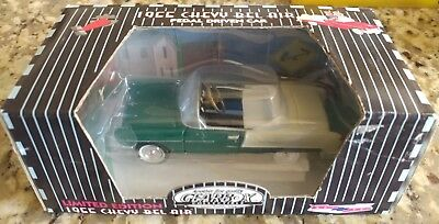 1997 Gearbox Limited Edition Texaco Sky Chief Green 1955 Chevy Belair Pedal Car