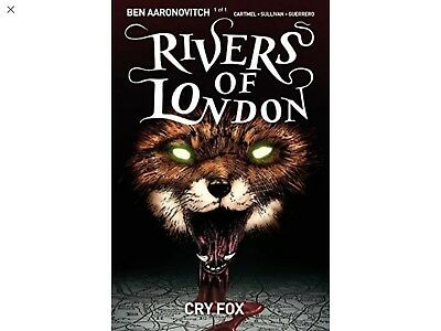 Rivers of London Volume 5: Cry Fox by Andrew Cartmel New Paperback Book