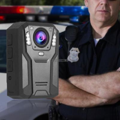 HD 2560P 128GB Portable HD Body Police Camera Security Pocket Cam Night Vision