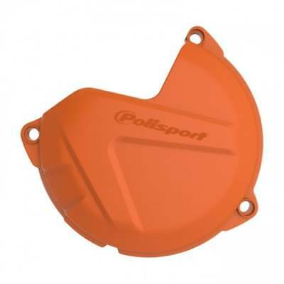 Polisport Clutch Cover Protector -  KTM SX 250 2012-16 EXC 250/300 13-16  Orange