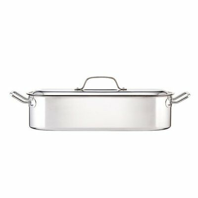 KitchenCraft Induction-Safe Stainless Steel Fish Kettle Poacher Steam Pan