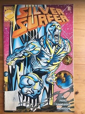 Silver Surfer 112 - The Watcher, George Perez, Marvel