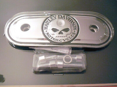Harley Davidson Skull Totenkopf Luftfilter Air Cleaner Cover Sporty 29416-04