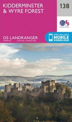 Kidderminster & Wyre Forest by Ordnance Survey 9780319262368