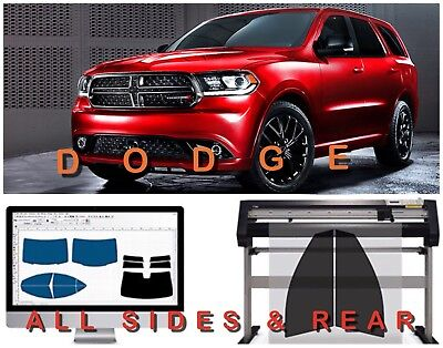 For DODGE DURANGO PRECUT ALL SIDES & REAR WINDOW TINT KIT WITH 3 YEARS WARRANTY
