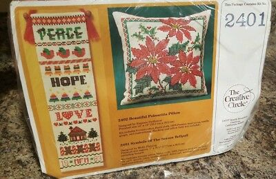 Creative Circle Symbols Of The Season Bellpull Counted Cross Stitch Kit 2401