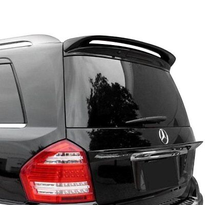 For Mercedes-Benz GL450 07-16 Spoiler Custom Style Fiberglass Rear Roofline