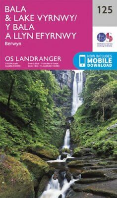 Bala & Lake Vyrnwy, Berwyn by Ordnance Survey 9780319262238