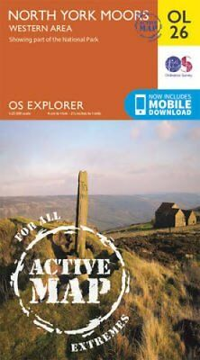 North York Moors - Western Area by Ordnance Survey 9780319469446