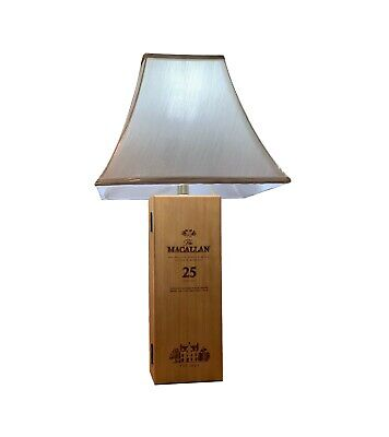MACALLAN 25 Year LAMP Theme beige Square Bell Shade