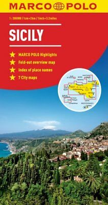 Sicily Marco Polo Map by Marco Polo 9783829767712 (Sheet map, folded, 2012)