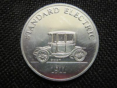 Sunoco DX Franklin Mint Antique Car Coin Series 2 1911 Standard Electric