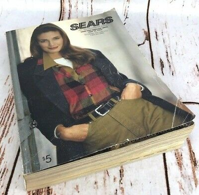 Vtg Sears Roebuck Catalog 1992 1993 Fall Winter Annual LAST EVER Fashion Tools