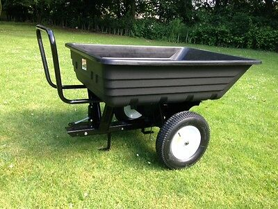 Ride On Lawnmower Tipping Trailer Garden Tractor Transporting 650lb/300Kg
