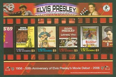 St. Vincent 2006 - Elvis Presley in the Movies - The King im Film Kino - 6268-71