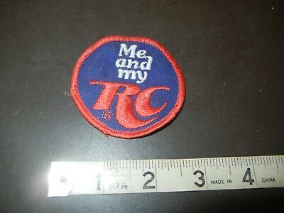 """VINTAGE """"ME AND MY RC"""" EMBROIDERED PATCH 2 1/2"""" DIAMETER UNUSED Red white & Blue"""