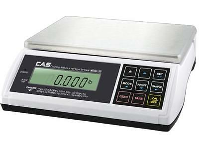 CAS ED-60 60X0.02 lb,Checkweigher Counting Scale,NTEP Legal for Trade,Dual,NEW