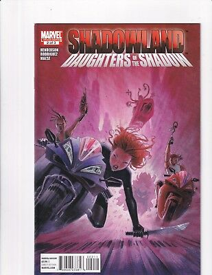Shadowland: Daughters Of The Shadow #2 (Marvel 2010)