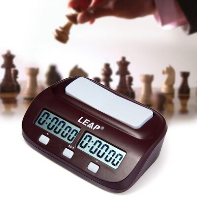 Professional Electronic Digital Chess Clock Count Up Down Timer Game Competition