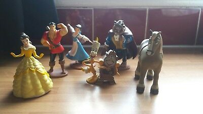 Disney Beauty & Beast figures