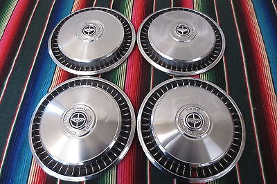 "1960's 1970's FORD BRONCO 1/2 TON PICKUP TRUCK 15"" HUBCAPS WHEEL COVERS HUB CAPS"