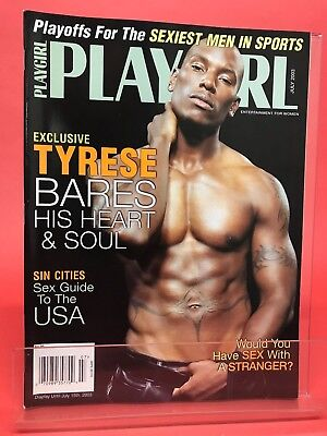Tyrese nude in playgirl — 7