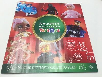 Toys R Us 2017 Christmas Toy Catalog Book, Toys R Us Catalog, 118 pages NEW Ad