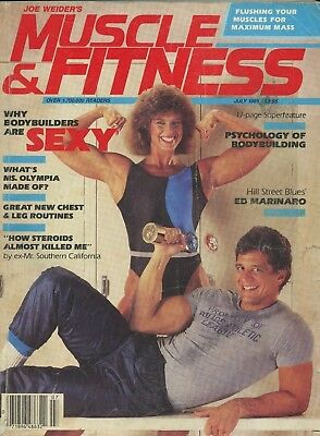 Muscle & Fitness Bodybuilding Magazine July 1985