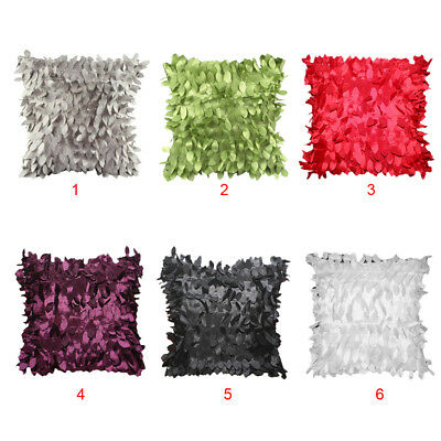 Cut Fall leaves Feather PILLOW CASES CUSHION COVERS Wedding Christmas 42 cm