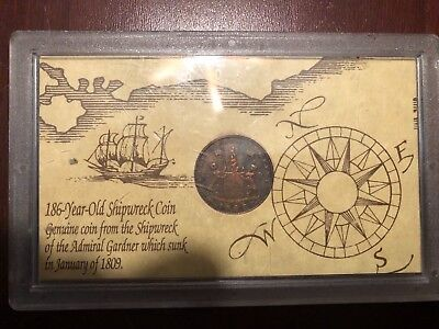 1808 shipwreck coin east India company