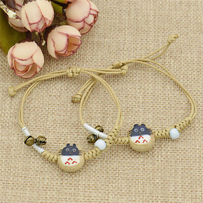Anime My Neighbor Totoro Bracelet Girls Kids Bangle Cuff Ceramic Jewelry Gift
