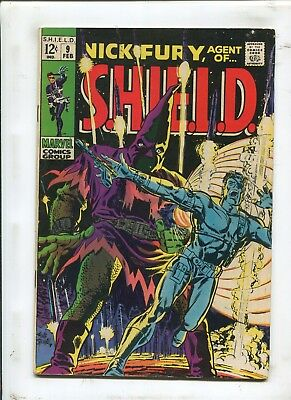 Nick Fury, Agent Of S.h.i.e.l.d. #9 - The Name Of The Game Is Hate! - (7.0) 1968
