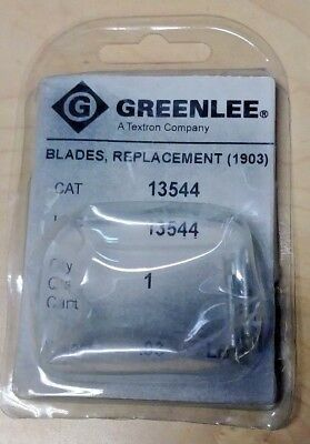 Greenlee 13544 Replacement Blade (2 Pack)  for 1903 Cable Pocket Stripper