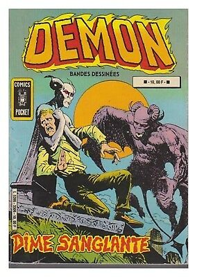 Demon Album N° 3309 N° 15 / 16 Comics Pocket 1981 Be+