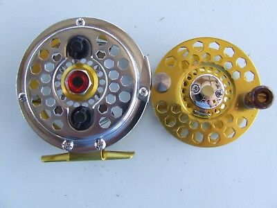 Fly Fishing Reel High Strength Alloy Metal, Combo with Floating leader line