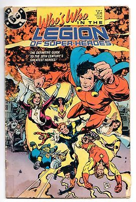 Who's Who In The Legion of Super-Heroes #1 (DC, 1988) GD