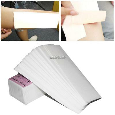 100 Sheet Disposable Depilatory Paper Hair Removal Wax Paper WST