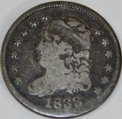 1833 Capped Bust Half Dime [SN02]