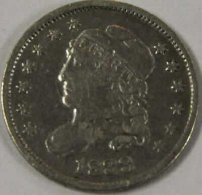 1833-P Capped Bust Half Dime [SN01]