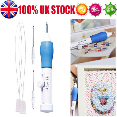 Universal Top 3 Sized Punch Needle Punching Punch Needle Tool Kit For Embroidery