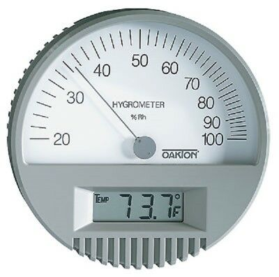 New Authentic Oakton Digital Analog Industrial Thermo Hygrometer Humidity Japan