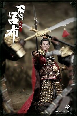 303TOYS 1/6 THREE KINGDOMS SERIES SOARING GENERAL LV BU &RED RABBIT BANNER Set