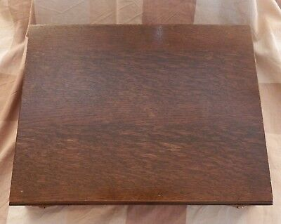 Beautiful antique wooden cutlery box
