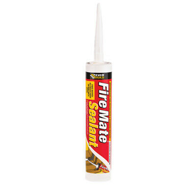 Everbuild Fire Mate Intumescent Sealant cement flue Acoustic Acrylic Protection