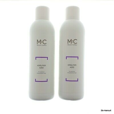 MC Meister Coiffeur Kräuter Azid M:C Herbal Conditioner P, 2x 1000 ml
